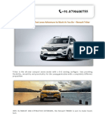 Introducing the Car That Loves Adventure as Much as You Do – Renault Triber