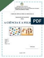 A Ciência e a Felicidade