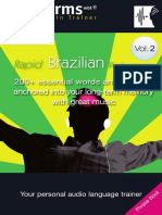 EarWorms Rapid Brazilian Portuguese Vol 2