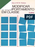 Como Modificar o Comportamento em Classe MANUAL PARA USO DE PROFESSORES PRIMÁRIOS.pdf