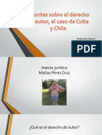 Ensayo Sobre Derecho Cuba