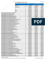 PC Express Desktop and Laptop Pricelist April 2017