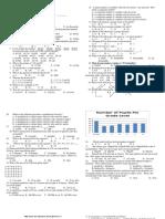 2019 - 2020 Diagnostic Test Grade 6