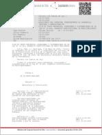 Ley Organica Constitucional de Municipalidades