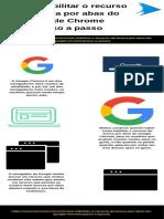 Como habilitar o recurso de busca por abas do Google Chrome passo a passo