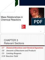 Chemical Reactions Equations