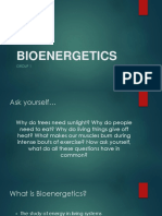 Bio Energetics