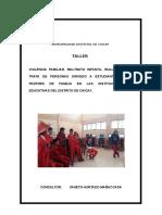 Informe Taller Educacion