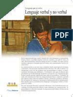 lenguaje verbal y no verbal
