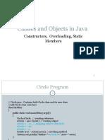 Class Objects