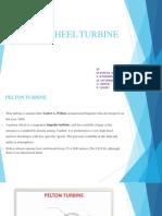 Pelton wheel Turbine ( brief notes)