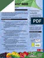 Cytoplant-400 ING Technical Data Sheet