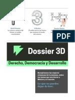 Dossier 3D No. 75 Del 17 al 23 de junio de 2019.