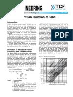 FE 1900 Vibration Isolation of Fans