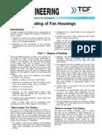 FE 700 Sealing of Fan Housings