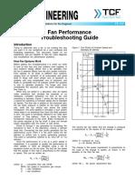 FE 100 Fan Performance Troubleshooting Guide