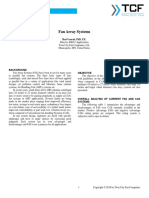 Fan Array Systems Analysis White Paper