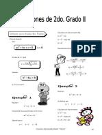IV BIM - 2do. Año - ALG - Guía 5 - Ecuaciones 2do Grado II.doc