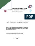 Los Principios de Lean y Kanban