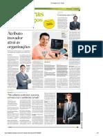Atributo Inovador Atrai as Organizações - O Estado de São Paulo - 06-05-2018