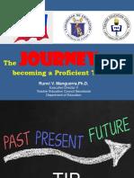 The Journey Towards Becoming a Proficient Teacher-2 Copy