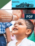 Newsletter - Sri Krishna Janmastami - Bhaktivedanta Manor