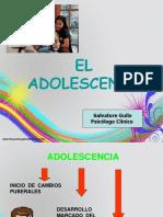 etapas de transformación de la adolescencia