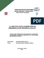 """La Metodología Kanban Para El Desarrollo de Procesos Ágiles"""""""