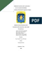 Constitución Geológica Del Perú