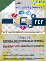 Media Industry Mailing Database