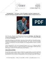 Press Release - Nat King Cole - 6-25-19