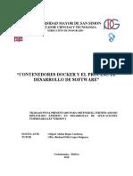 Contenedores Docker Y El Proceso De Desarrollo De Software