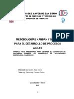Metodologías Kanban y Scrum Para El Desarrollo de Procesos Ágiles