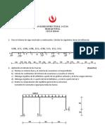 Análisis Estructural 1 Tf