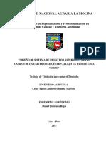 tesis modelamimento riego