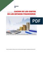 Unidad 3. Recurso 2. Lectura.clasificación de Los Costos en Los Estados Financieros