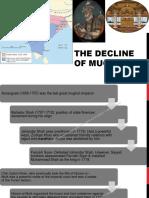 The Decline of Mughals