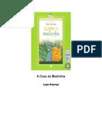 Novela - Lygia Bojunga - A Casa Da Madrinha