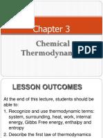 Chapter 3 Thermodynamics