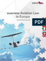 Business Aviation Law in Europe 2017
