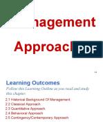 OrgMan Management Approaches