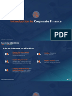 Introduction of corporate finance