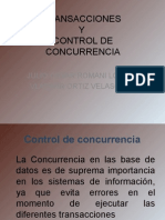 CONTROL DE CONCURRENCIA