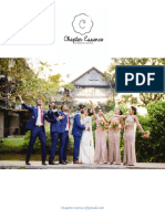 Chapter Essence - Wedding Packages for 2018
