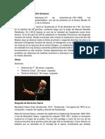 Biografía de José Eulalio Samayoa