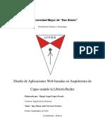 Diseño de Aplicaciones Web Basadas en Arquitectura de Capas Usando La Librería Redux