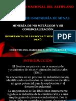 Diap 01 Mineria de No Metalicos y Su Comercializacion