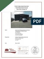 Structural Investigation, École Notre-Dame-du-Cap