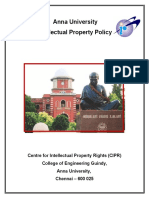 Anna University Ip Policy