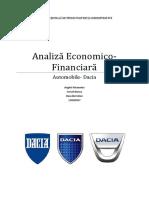 Proiect Analiza E F